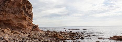 Hallett Cove Beach Shore Rock Formation. Hallett Cove Beach, Adelaide ,Australia Stock Images