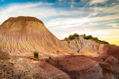 Hallett Cove landscape at sunset Stock Photos