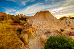 Hallett Cove landscape Royalty Free Stock Photo