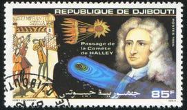Halleys彗星 图库摄影