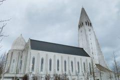 hallgrÃmskirkja, Iceland Obraz Royalty Free