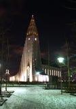 HallgrÃmskirkja in ReykjavÃk Immagini Stock Libere da Diritti