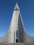 hallgrÃmskirkja, Reykjavik, Iceland Zdjęcia Stock