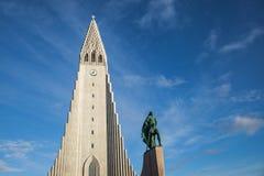 Hallgrímskirkja, Reykjavik Immagini Stock