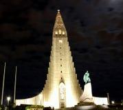 Hallgrímskirkja Reykjavik Arkivfoto