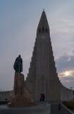 Hallgrímskirkjan. Hallgrímskirkjan church cathedral in Reykjavik, Iceland (church of Hallgrímur Royalty Free Stock Photo