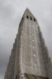 Hallgrim Church. Outside view on the Hallgrim Church, Reykjavik, Iceland stock photos