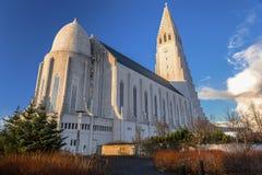 Hallgrims kyrka Royaltyfria Bilder
