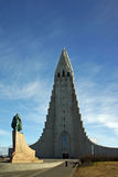 Hallgrimskirkja stock photo