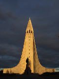 Hallgrimskirkja Royalty Free Stock Images
