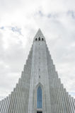 Hallgrimskirkja cathedral in Reykjavik Royalty Free Stock Photography