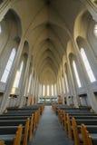 Hallgrimskirkja Cathedral in Reykjavik , Iceland Stock Image