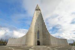 Hallgrimskirkja Cathedral in Reykjavik Stock Photography
