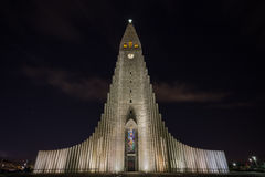 Hallgrimskirkja Church Royalty Free Stock Photo