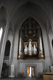 Hallgrimskirkja church organ Royalty Free Stock Image