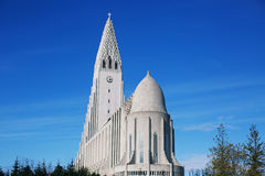 Hallgrimskirkja Church Stock Photos
