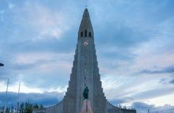 Hallgrimskirkja Church, Reykjavik, Iceland. Hallgrimskirkja, a Lutheran Church of Iceland parish church in Reykjavík, named after the Icelandic poet and Stock Images