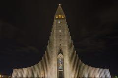 Hallgrimskirkja Church in Reykjavik Royalty Free Stock Image
