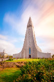 Hallgrimskirkja church Stock Image