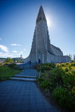 Hallgrimskirkja stock photos