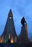 Hallgrimskirkja (igreja de HallgrÃmur) Fotos de Stock