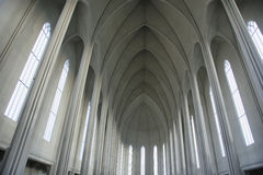 Hallgrimskirkja-Kathedrale Lizenzfreies Stockbild