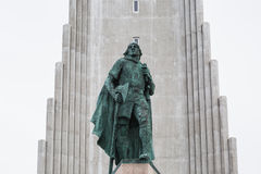 Hallgrimskirkja-Kathedrale in Reykjavik, Island Stockfotografie