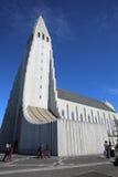 Hallgrimskirkja reykjavik Imágenes de archivo libres de regalías