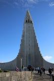 Hallgrimskirkja reykjavik Foto de archivo libre de regalías