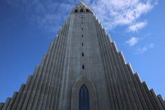 Hallgrimskirkja. Reykjavik Royalty Free Stock Photos