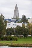 Hallgrimskirkja, Reykjavik, Iceland obrazy royalty free