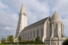 Hallgrimskirkja, Reykjavik, Iceland. Royalty Free Stock Photo