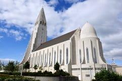 Hallgrimskirkja a Reykjavik Islanda Immagine Stock Libera da Diritti