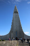 Hallgrimskirkja. Reykjavik Royalty Free Stock Photo