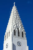 Hallgrimskirkja spire Royalty Free Stock Photo