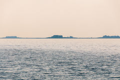 Hallig Langeness in the north sea Royalty Free Stock Image