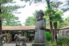 Hallim公园,其中一个10月5日的最普遍的旅游胜地, 201 免版税库存照片