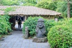 Hallim-Park, eine der populärsten Touristenattraktionen am 5. Oktober, 201 lizenzfreies stockbild