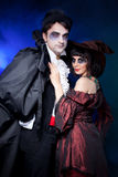 Halliween couple Royalty Free Stock Images