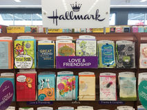 Hallmark Greeting Cards at Grocery Store Stock Photos