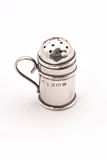 Hallmarked sterling silver pepper pot Stock Photos