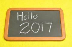 Hallo 2017 Lizenzfreie Stockbilder