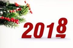 Hallo 2018 Lizenzfreies Stockfoto