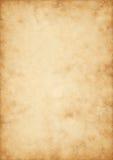 Hallo altes Pergament der Qualität Stockbild