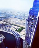 Hallo Aufstieg Dubai-Hotel lizenzfreies stockbild