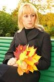 Hallo de herfst Stock Afbeeldingen
