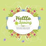 Hallo Frühling Lizenzfreie Stockbilder