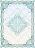 Hallo gedetailleerd guilloche leeg certificaat Royalty-vrije Stock Foto