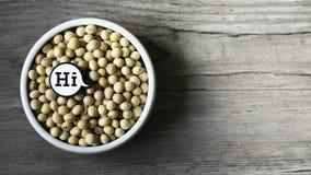 Hallo gesunde Nahrung lizenzfreie stockfotografie