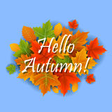 Hallo Herbst Stockfotografie